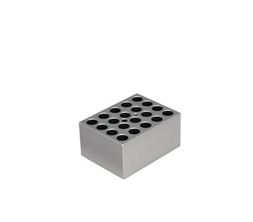 Image – Metal Block For 20 x 13 mm Tubes - product