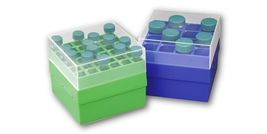 Centrifuge tube storage / transport boxes