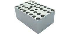 Image – Metal Blocks for Mini Dry Bath (For 32 x 0.2 ml PCR Tubes) - product