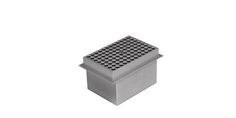 Image – Metal Blocks for Single & Dual Block Dry Bath Systems - For 96-Well Plate(Dual Block) - product