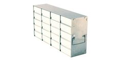 Image – 20-Place Aluminium Rack with White Boxes - key visual