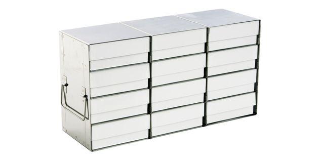 Gestelle für Tiefkühlschränke für Standardlagerboxen (seitlicher ... | {Tiefkühlschränke 33}