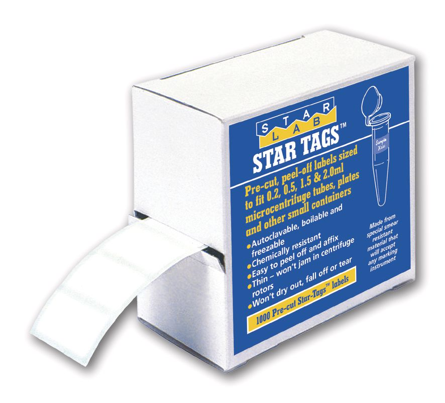 StarTags Laboratory Labels