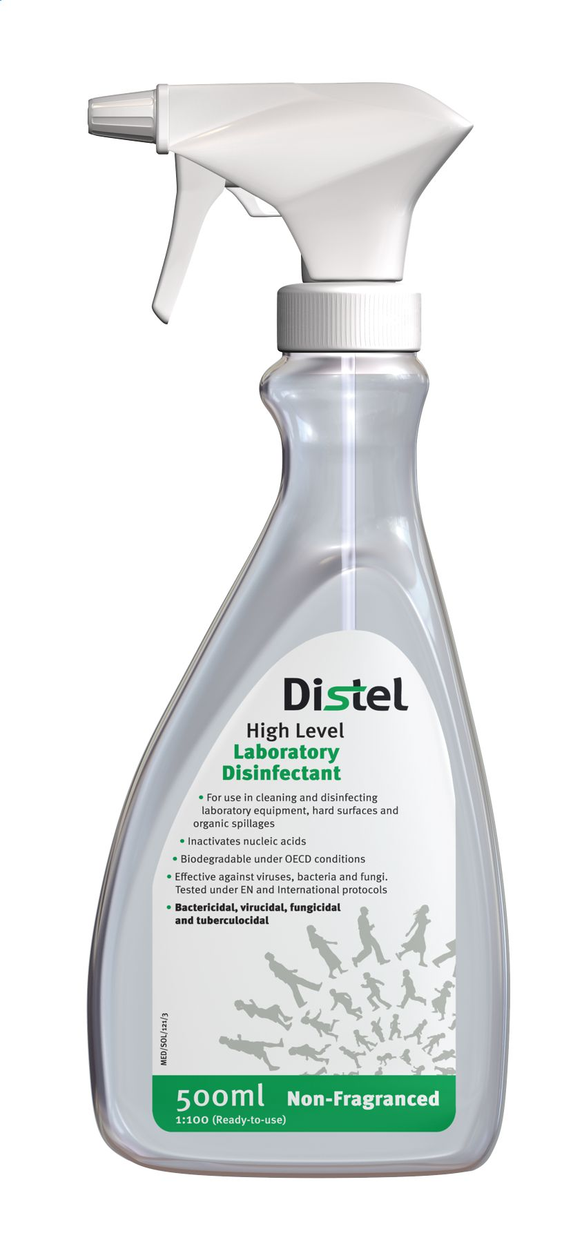 Image – Distel Disinfectant - Ready to Use Spray - key visual